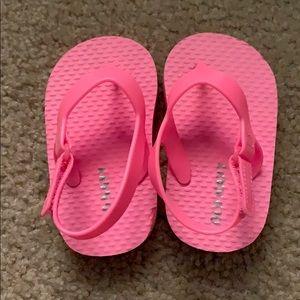 🌈4/$25🌈 NWOT Baby Girl Pink Flip Flops